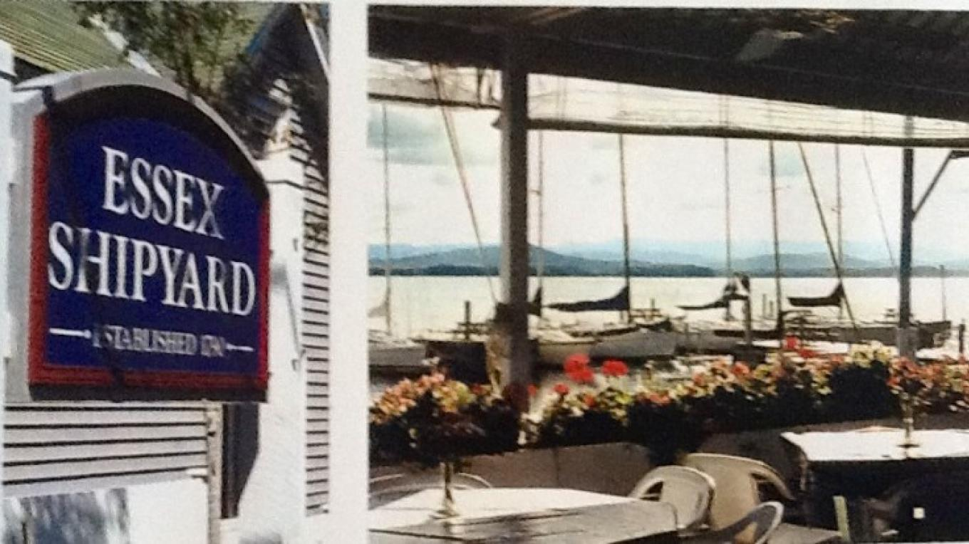 Chez Lin & Rays located at Essex Shipyard in Essex, NY on the waters of Lake Champlain. – Ray Faville