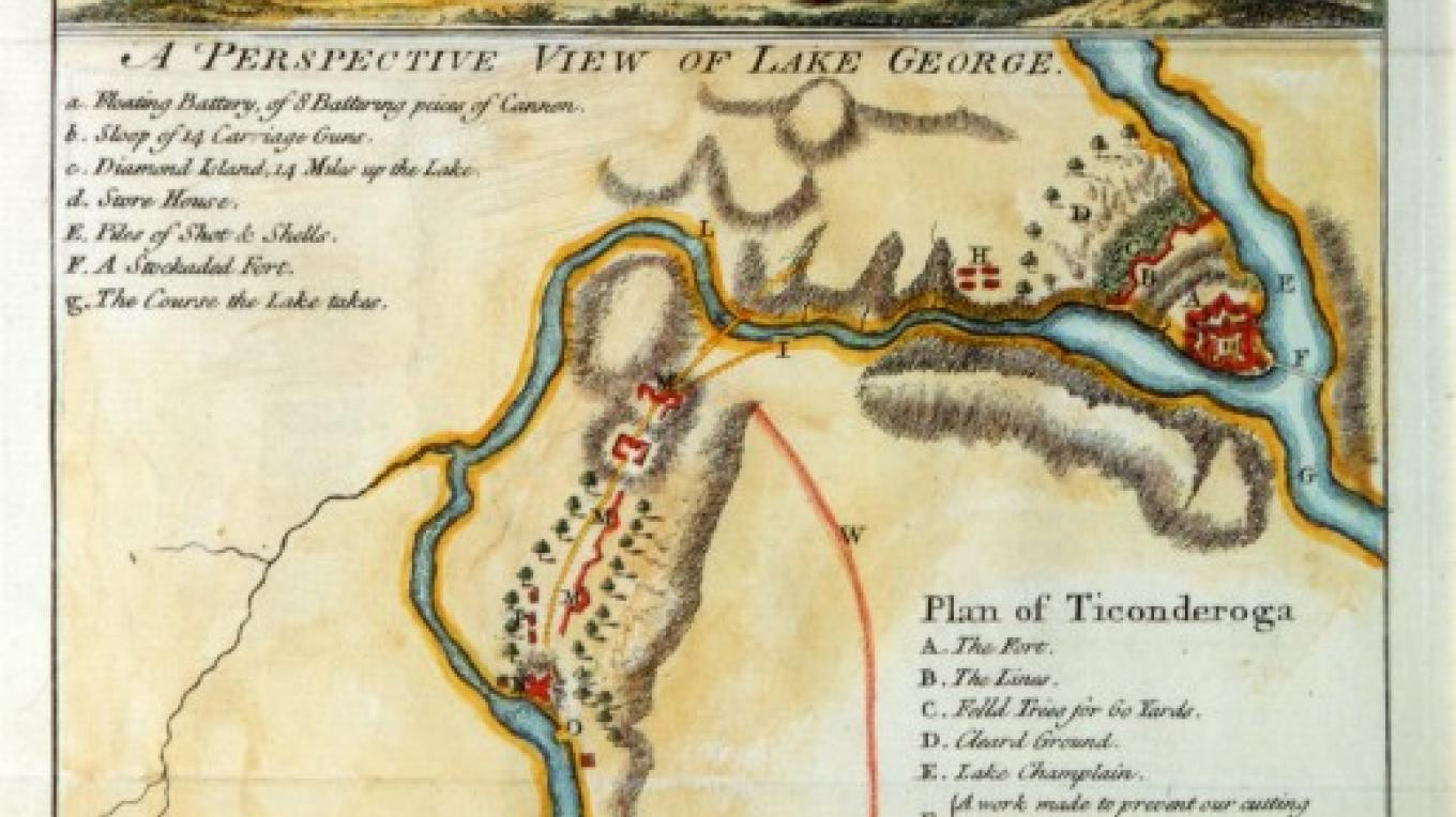 1759 Perspective View – Fort Ticonderoga