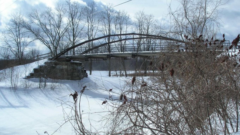 Another wintertime view of Whipple Bridge – Myla Kramer
