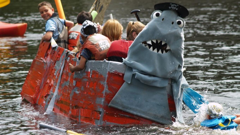 Cardboard Boat Races 1