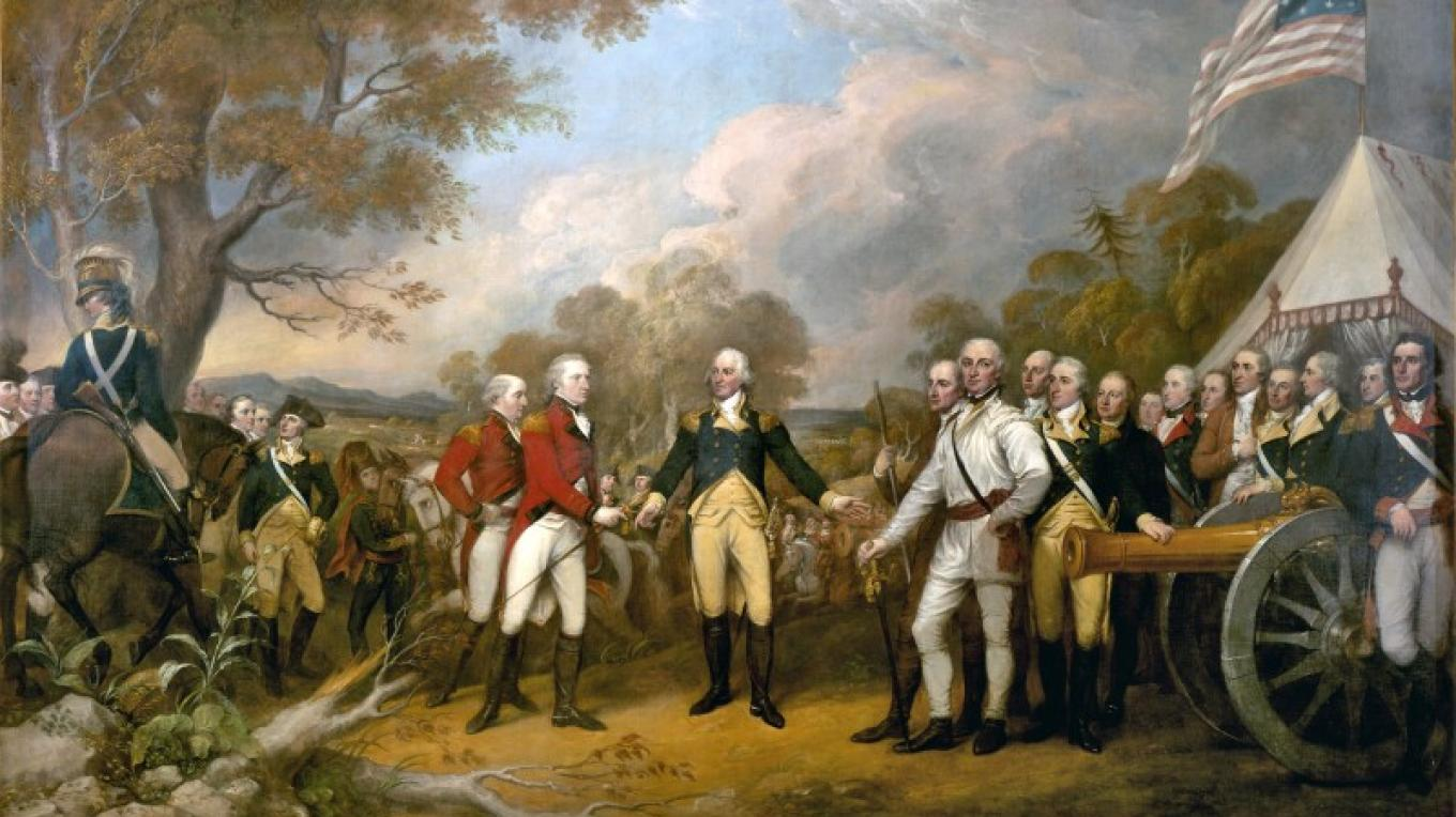 Burgoyne's Surrender by John Trumbull. Courtesy of Architect of the Capitol.