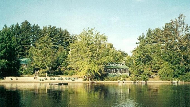 Cherry Bank from Lake – Helen D. Wildman