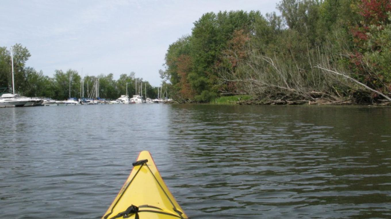 At the mouth of the Great Chazy River. – Courtesy of Cathy Frank