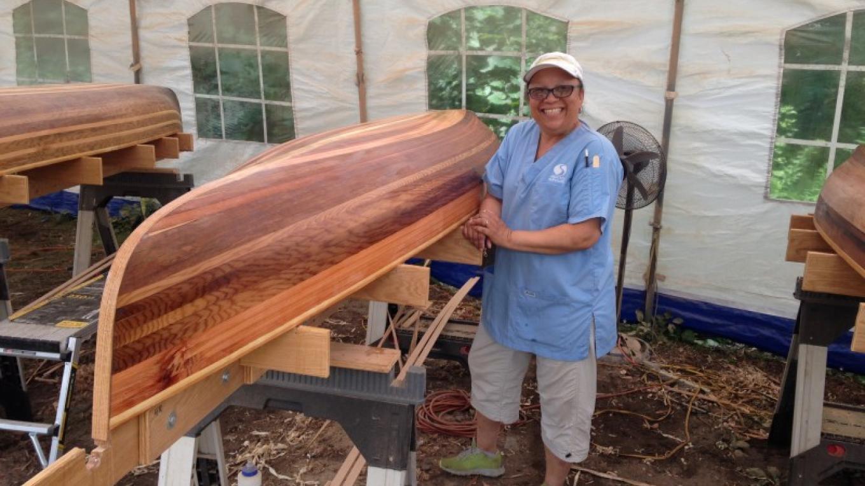 Canoe class. – Adirondack Folk School