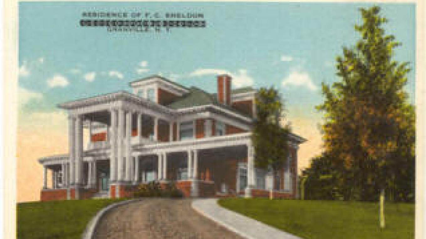 The Sheldon Mansion, ca 1906