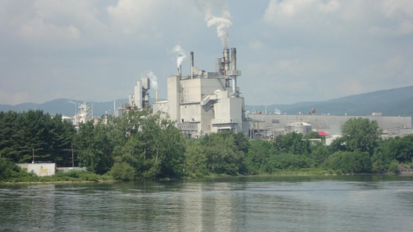 International Paper, one of the largest industries remaining along the lake. – Owen Schwaderer