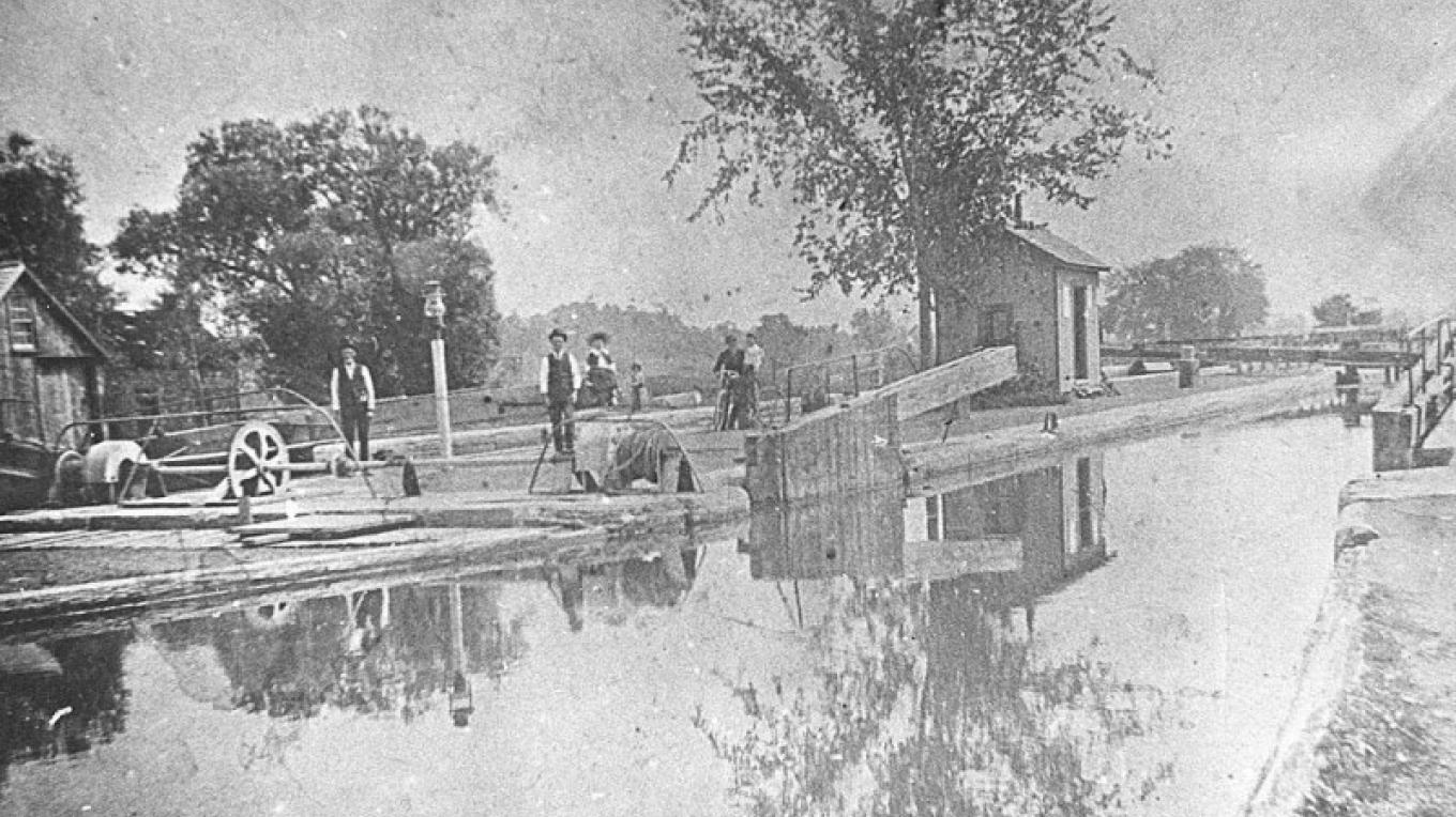 Lock 19 in Vischer Ferry Nature and Historic Preserve – unknown