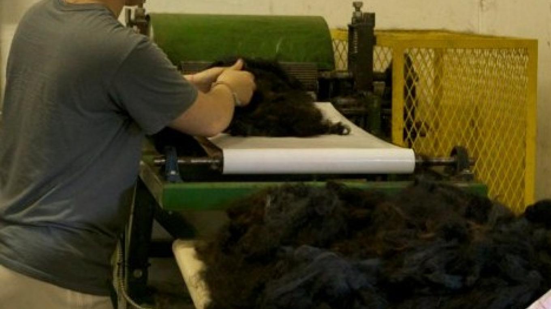 Blending fiber at the picker – Lubna Dabbagh