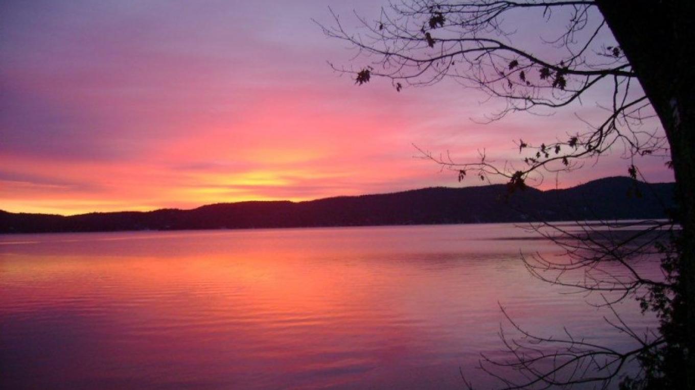 Sunrise in Hague on Lake George – Pat Mcdonough