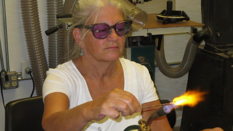 Lampwork class. – Adirondack Folk School