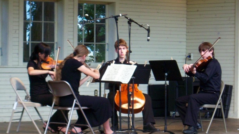 Concert at Ballard Park in Westport