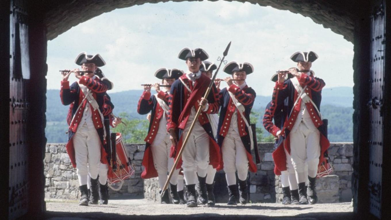 Fife and Drum corps at Fort Ticonderoga – Fort Ticonderoga