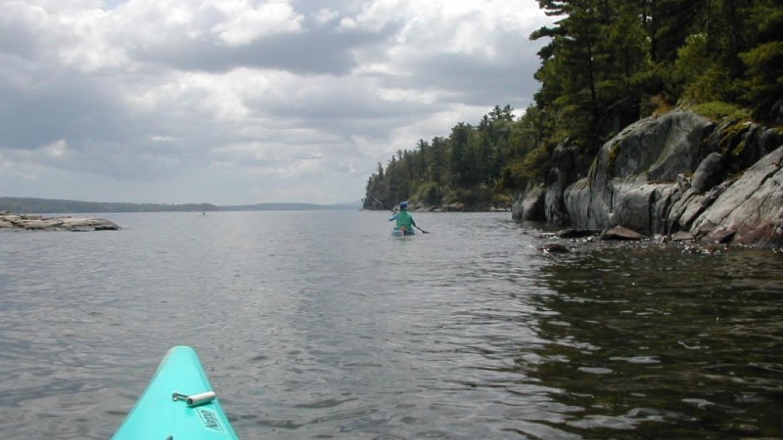 Approaching Willsboro Bay. – Courtesy of Cathy Frank