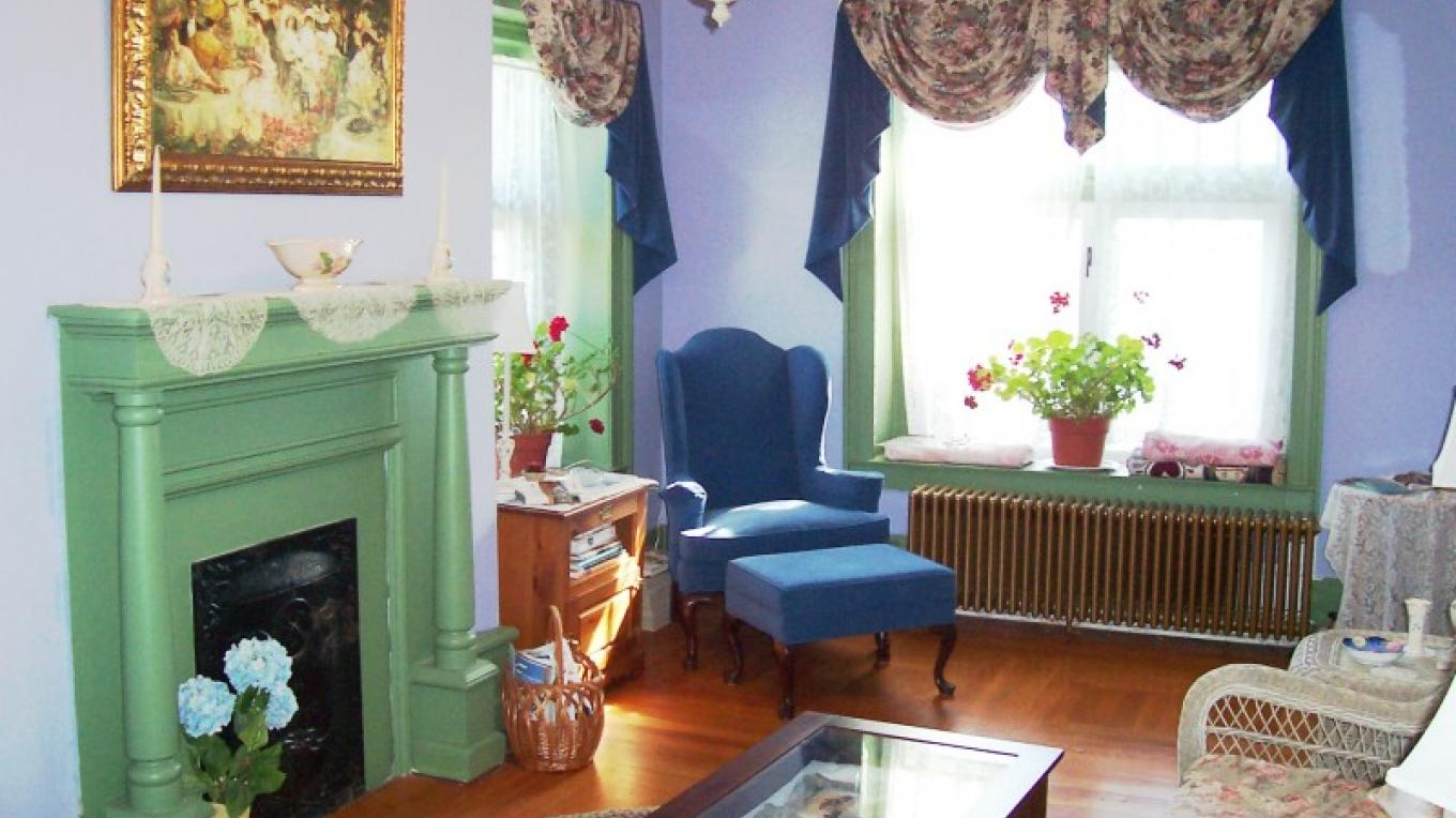 Mrs. Sheldon's Sitting Room