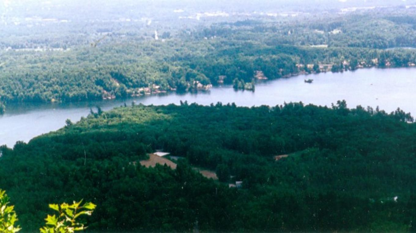 Glen Lake From French Mountain. – Town of Queensbury