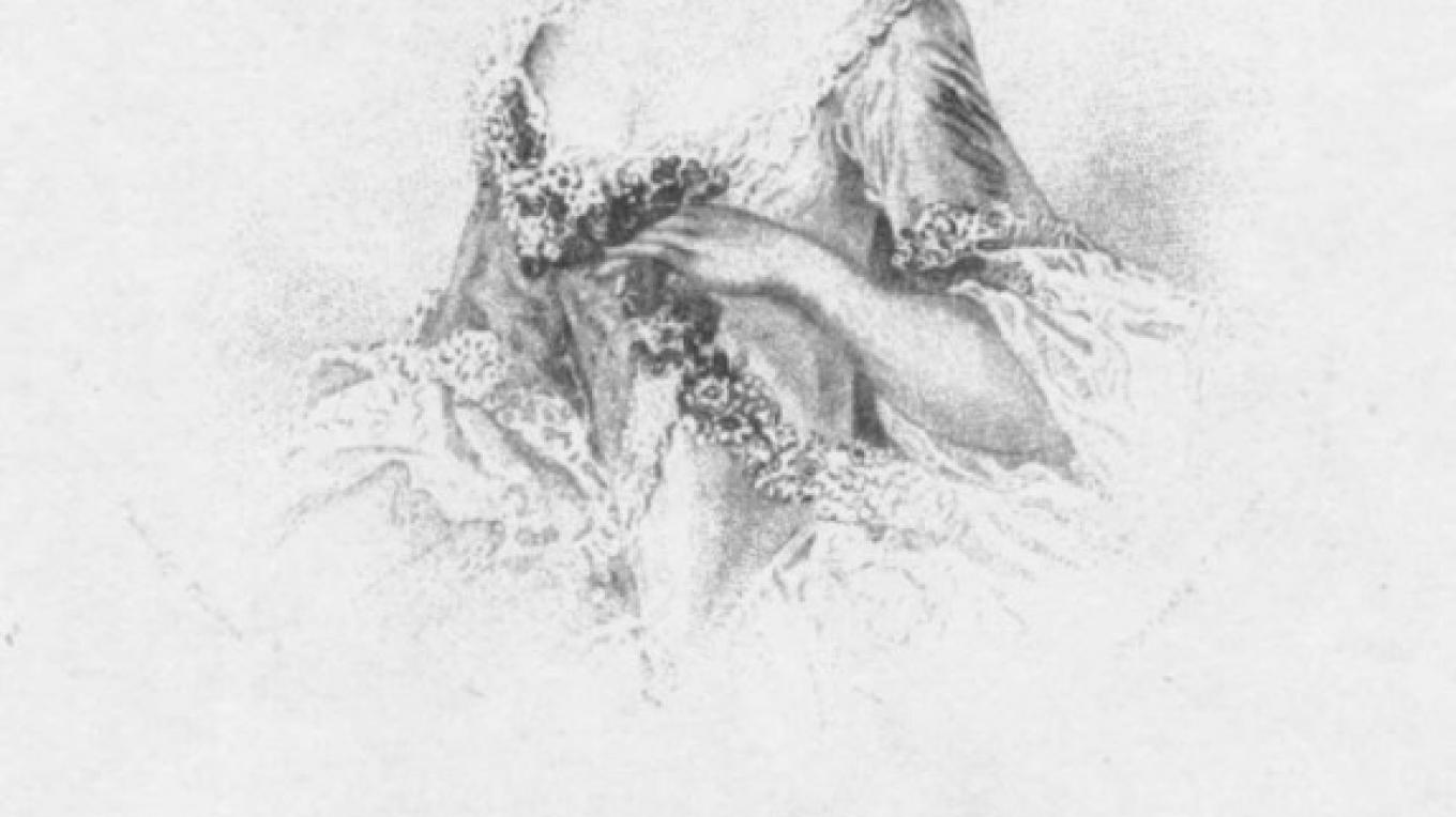 Baroness Riedesel – 18th Century Sketch