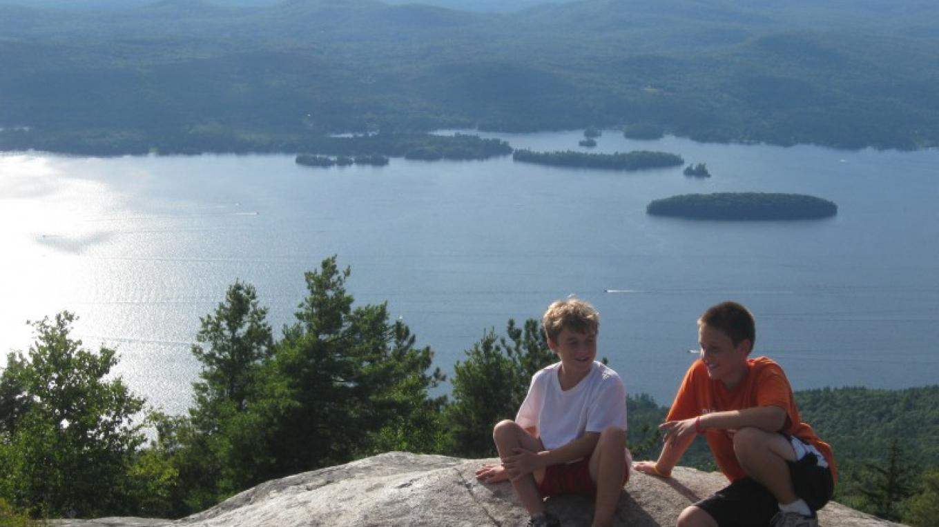 View of Lake George from Buck Mountain – Washington County Tourism