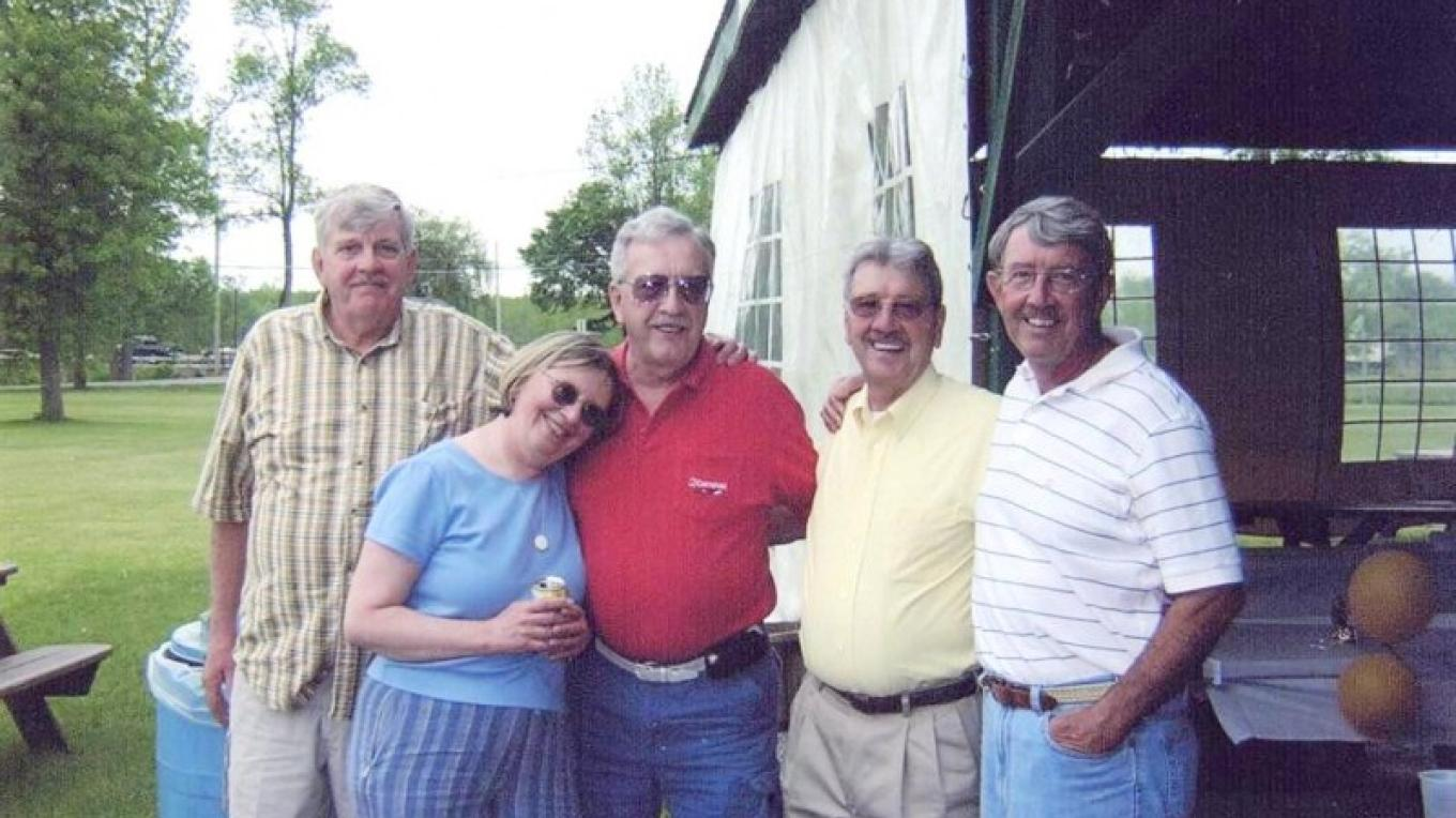 Henningson Siblings: Art, Judy, Pete, Ed and JC – Barbara Henningson