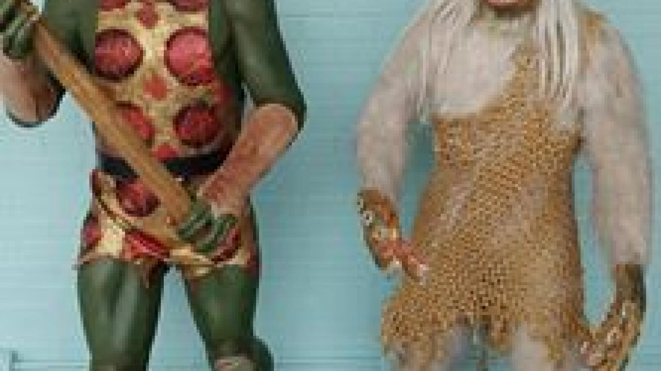Gorn and Salt Vampire. – Courtesy of and copyright by Star Trek Original Series set Tour and CBS.