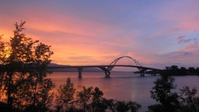 The new bridge connecting Vermont and New York. – NYS DEC