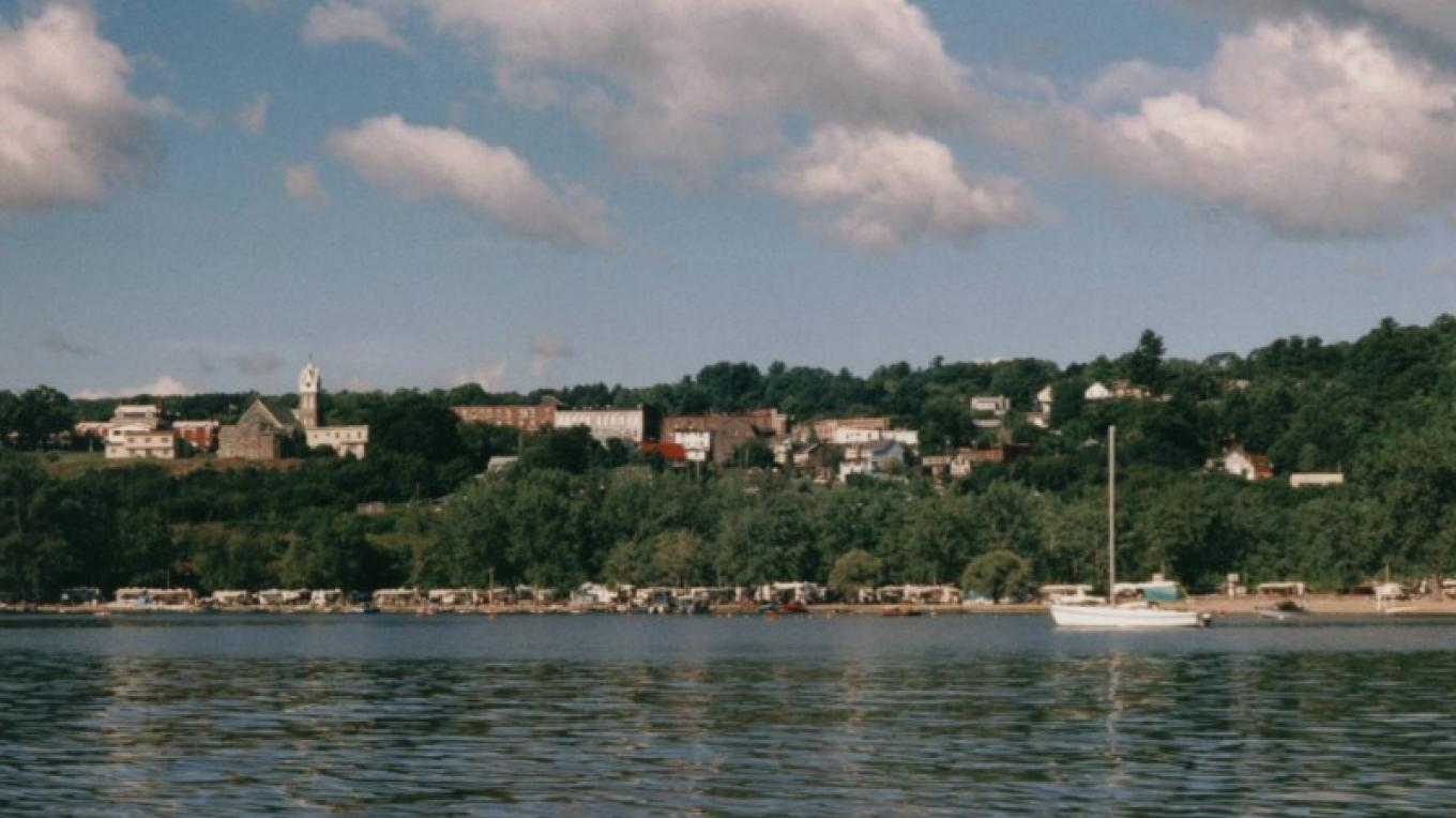 View of Port Henry Campground from Lake Champlain – Town of Moriah Historical Society