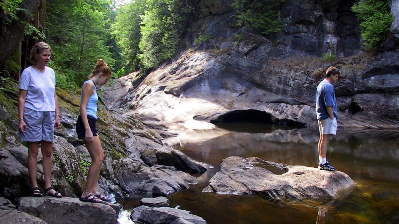 Garnet Cave and Artist's Gorge area. – Greg Beckler