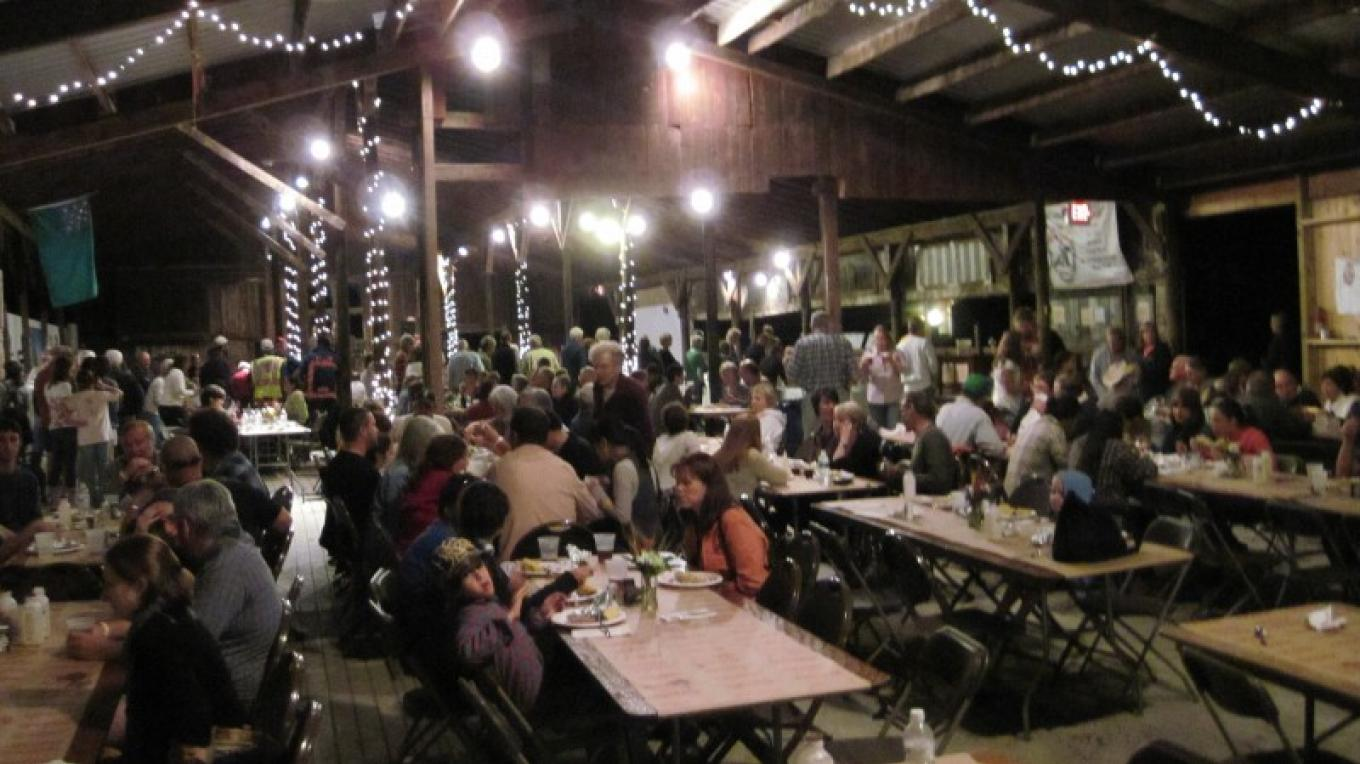 Salem's yearly Harvestfest hosted in SAW's Barn 2 Gallery