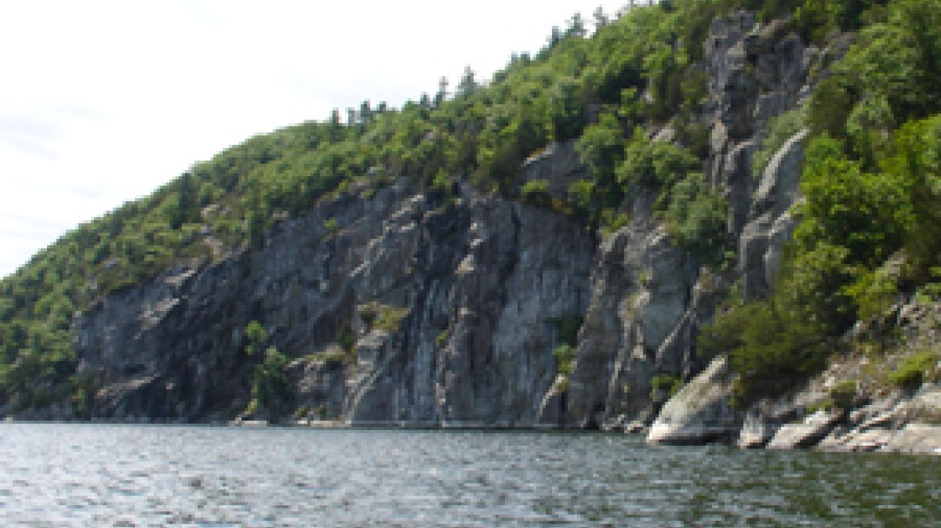The Palisades, part of Split Rock Wild Forest. – Courtesy NYS DEC