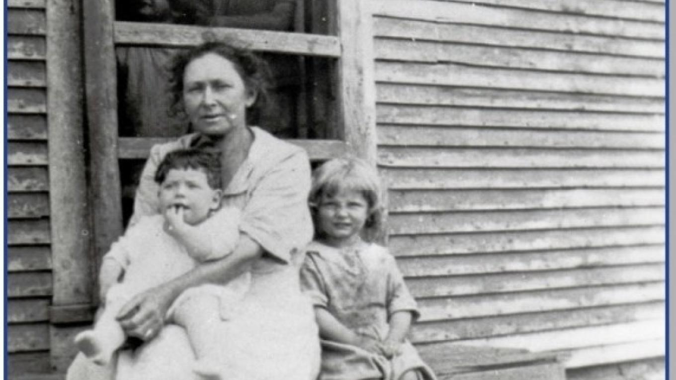 Virginia Upton and her family rented the Harney Farm. – Clinton County Historical Association