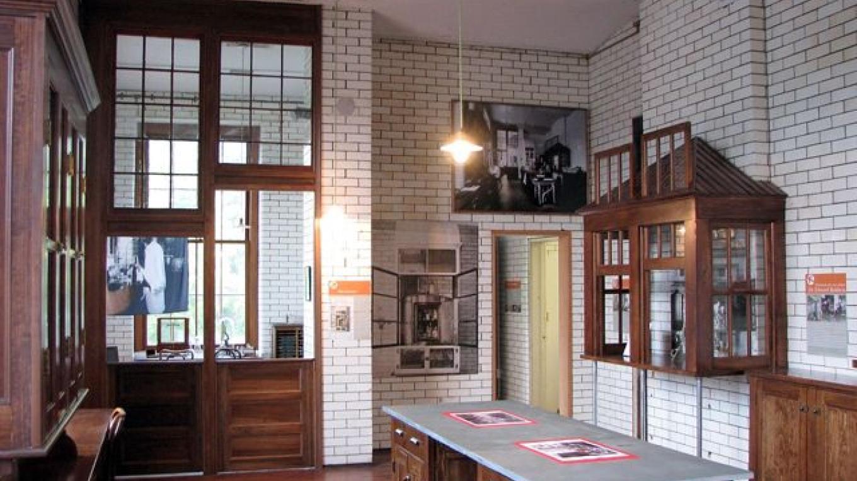 Interior of the Saranac Laboratory – Amy Catania