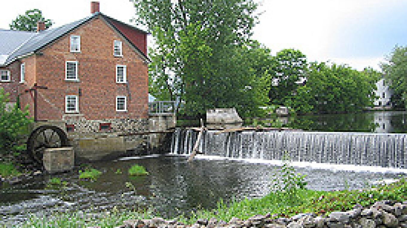 The Missisquoi Museum on the banks of the Pike River (Rivière aux Brochets) – Matthew Farfan