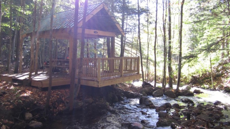 Main Pavilion along Mill Creek at Orenda – David Webb
