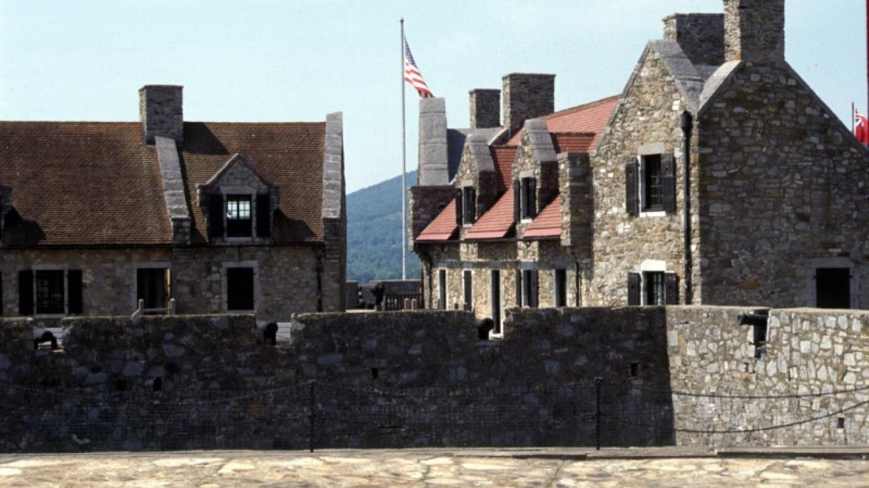 Stone Barracks of Fort Ticonderoga – Fort Ticonderoga NHL