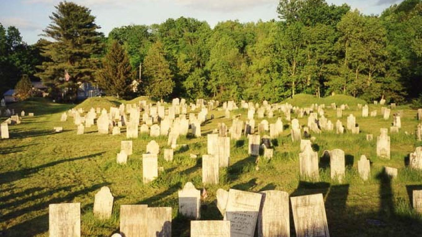 Tombstones and mounds – William Cormier