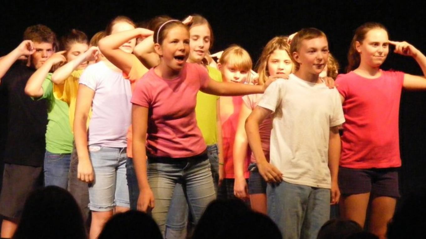 Every summer Fort Salem offers a Young Actors' Workshop, which concludes in a musical performance. – David O'Keefe