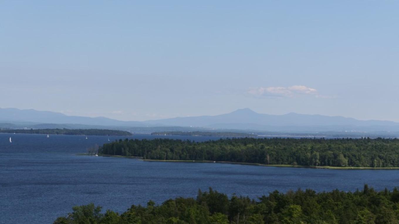 Valcour Island from Bluff Point on Lake Champlain. – Adirondack Coast Visitors Bureau