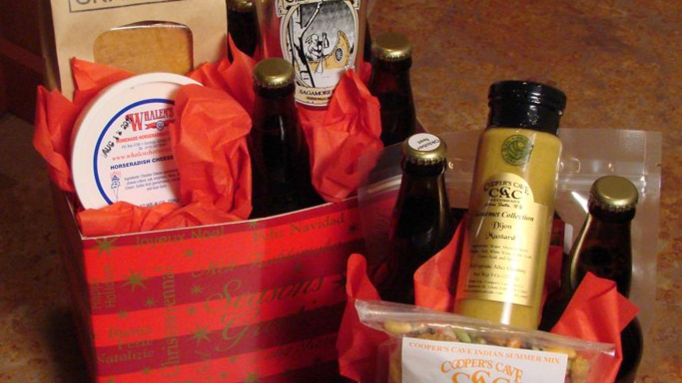 Gift baskets available.  We can custom make one for you , just because you're special!