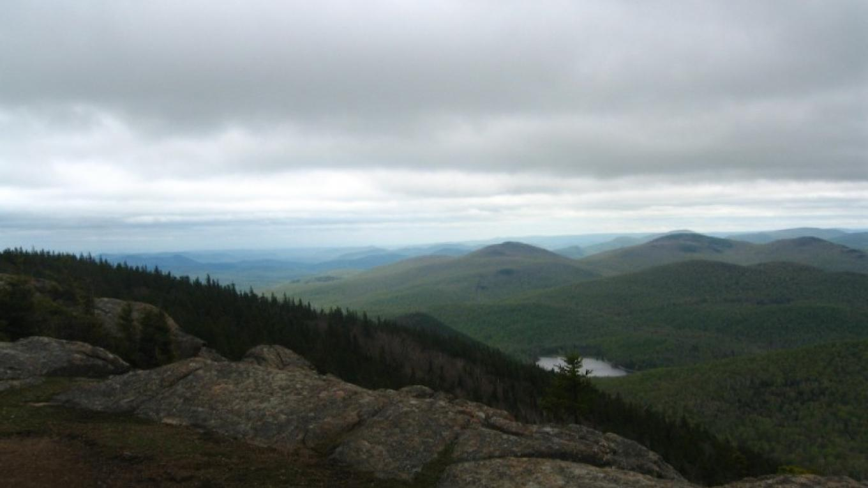 Looking towards Garnet Lake and Orenda from Crane Mtn Summit – David Webb