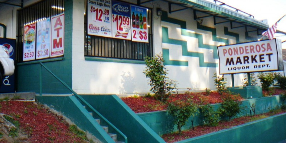 Ponderosa Market 2011site of original hotel – Susan Leeper