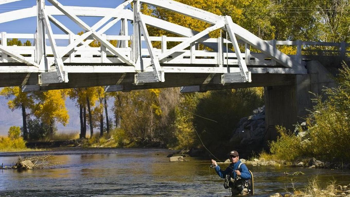 Fishing the Walker River – Nick Souza