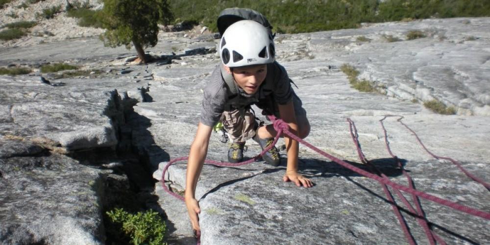 Quinn Arnaud First Climb at Pop-Bottle – Kevin Nelson