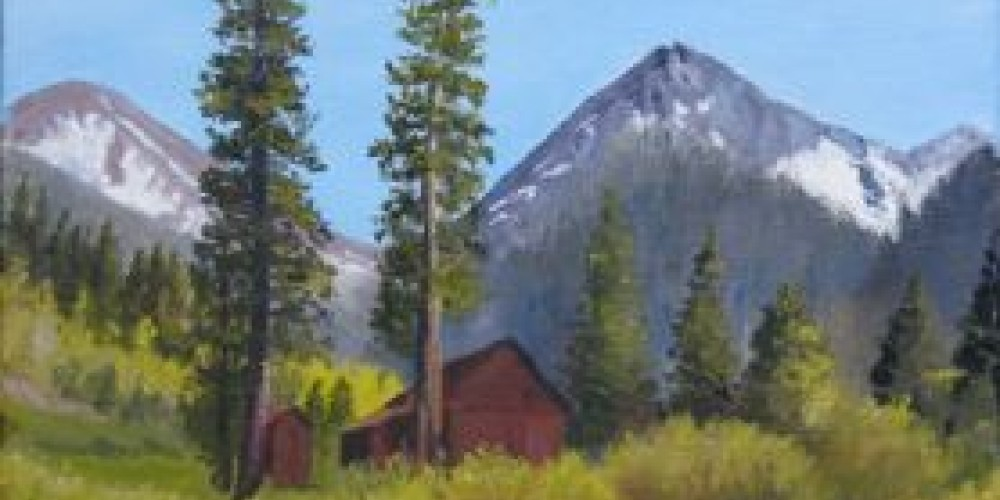 Farewell Gap, oil painting