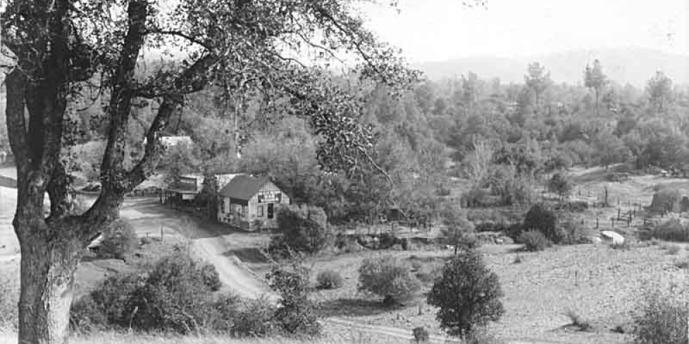 Historic photo of the valley of Mormon Bar – wrightwoodcalif.com