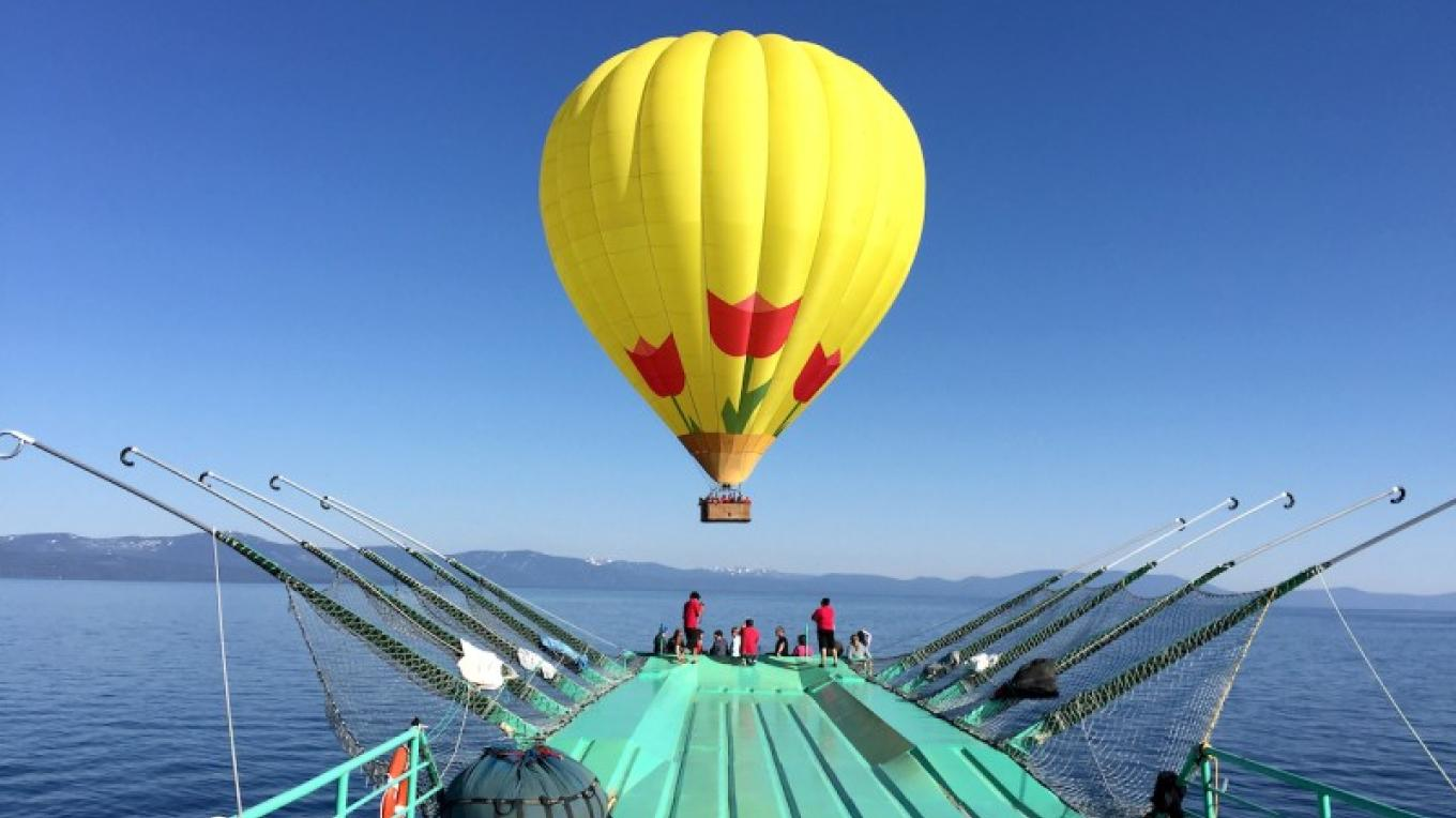 Launch & Land from the Tahoe Flyer! – Lake Tahoe Balloons