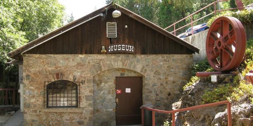 The Northstar Mine Powerhouse & Pelton Wheel Museum