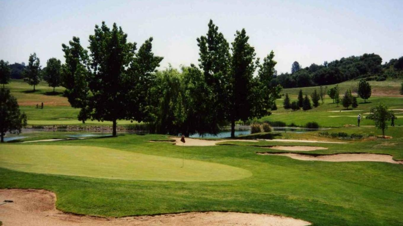 Golf course view – courtesy Mountain Springs Golf Course