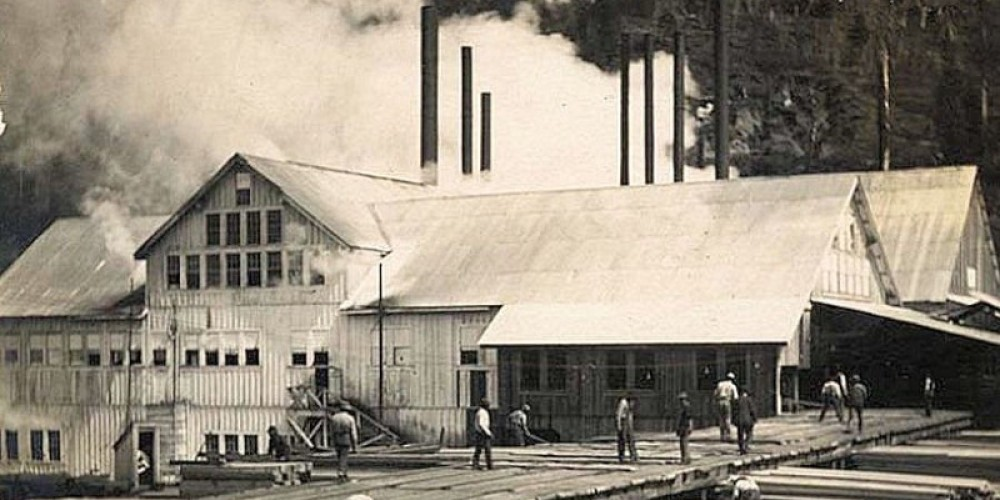 Pino Grande Mill, ca 1910 – Photos courtesy Library of Congress and Calif State Library
