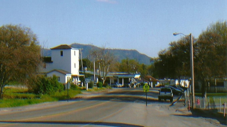 Auberry looking toward Black Mountain , SHS below Black Mountain – Susan Leeper