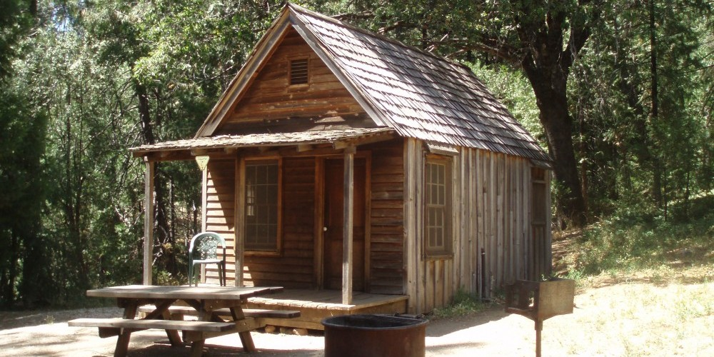Miner's Cabin (which can be rented) in North Bloomfield – Wes Nelson