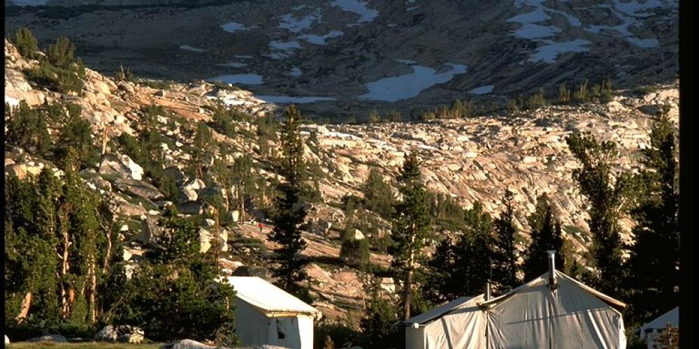 Vogelsang High Sierra Camp tent cabins